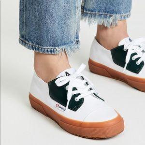 Alexa Chung x Superga Lace up Sneaker Collab